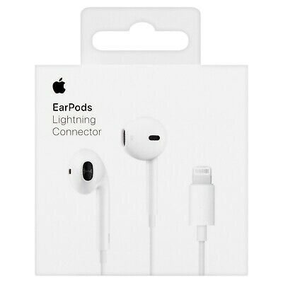 ORIGINAL Apple iPhone 7 8 XS X  7 Plus Earphones Headphones Lightning Connector