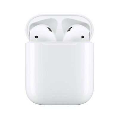 Apple AirPods 2nd Generation Wireless Earbuds W Wired Charging Case - MV7N2AMA