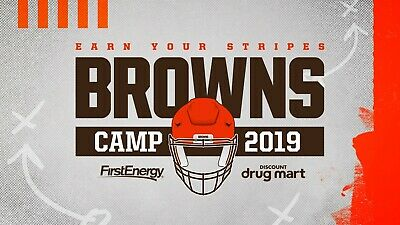 Cleveland Browns Training Camp Tickets Saturday August 10th 81019