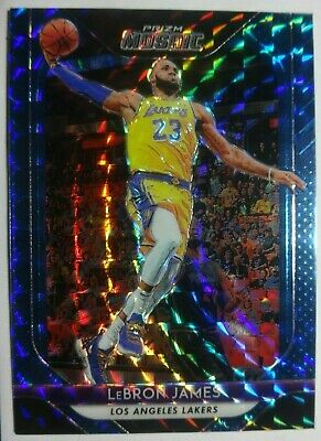 2018-19 Mosaic SP BLUE Refractor LeBron James 65 LOS ANGELES LAKERS Mint