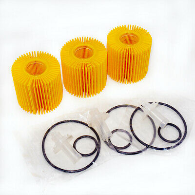 04152-YZZA1 Scion OEM Oil Filters fits for Toyota Lexus Set of Three