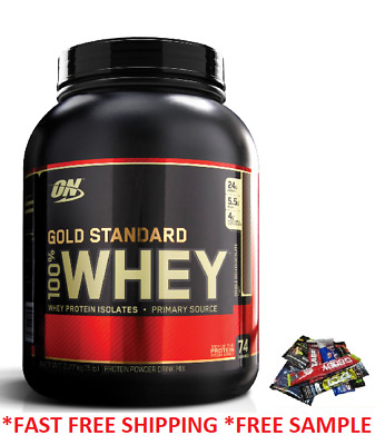 ON OPTIMUM NUTRITION GOLD STANDARD 100 WHEY PROTEIN 2LBS AND 5LBS O-N