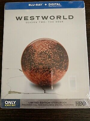 Westworld Season Two THE DOOR SteelBook Blu-ray - DIGITAL FACTORY SEALED