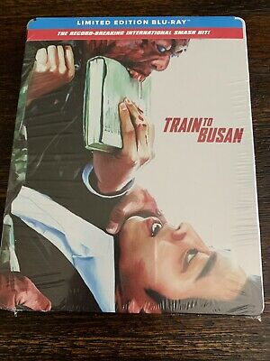 Train to Busan SteelBook Blu-Ray Limited Edition FACTORY SEALED