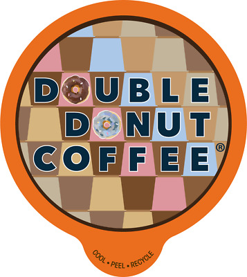80-ct Double Donut Coffee K-Cups for Keurig 25 Cents A Cup Choose Your Flavor
