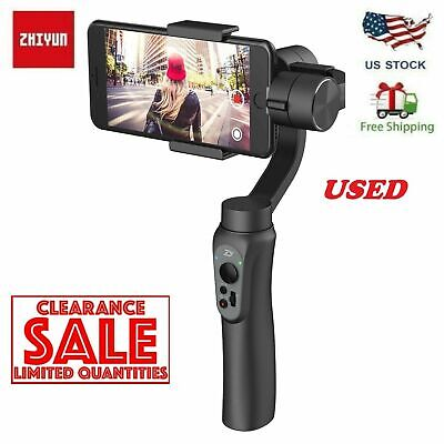 USE60OFF Zhiyun Smooth-Q Handheld Gimbal Stalilizer for Smartphone iPhone