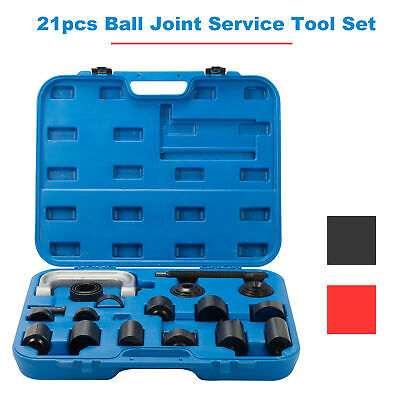 21PC C-PRESS BALL JOINT MASTER SET SERVICE KIT REMOVER INSTALLER 24WD AUTO