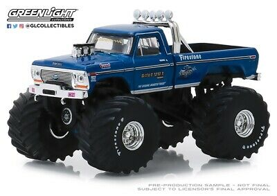 Greenlight 1974 Ford F-250 Monster Truck Bigfoot 1 w 66-Inch Tires 164 49040A