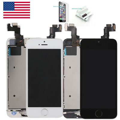 OEM For iPhone 5S SE LCD Display Complete Screen Replacement Button-Camera