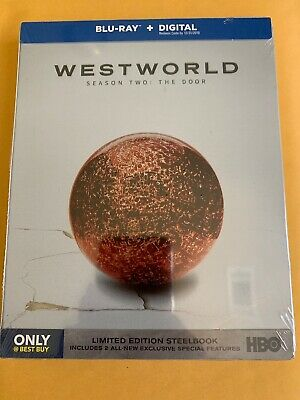 Westworld Season Two THE DOOR SteelBook Blu-ray - DIGITAL NEW SEALED A