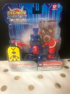 Digimon Fusion - Digi-Fusion Ballistamon Collect Fuse Battle Bandai 2013
