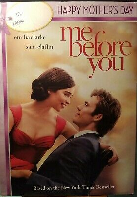 ME BEFORE YOU Mothers Day Edition DVD 2016 Emilia Clarke Sam Claflin