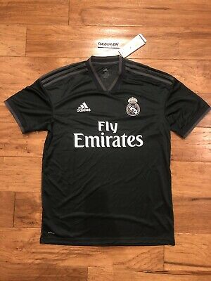 New Official Adidas Real Madrid 2018-19  Away Jersey CG0584 Men's Size M