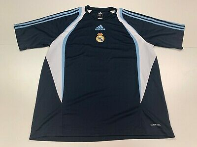 Real Madrid Adidas Men's Blue Soccer Jersey - Extra Large - XL