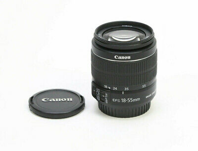 Canon EF-S 18-55mm f3-5-5-6 IS II Lens - Excellent Condition w Caps