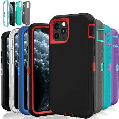 For Apple iPhone 11  Pro Cover Protective Defender Shockproof Case