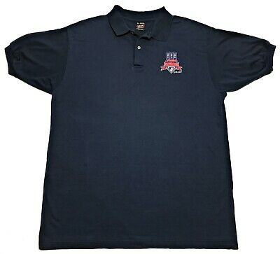 Vintage 1997 MLB All Star Game Cleveland Indians Baseball Polo Shirt Size XL