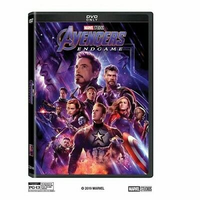 Avengers Endgame DVD Brand New - Sealed Free Shipping Included