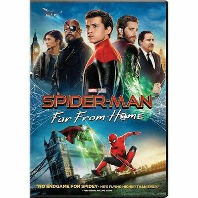 SPIDER-MAN Far From Home DVD New - Sealed Free Shipping Included