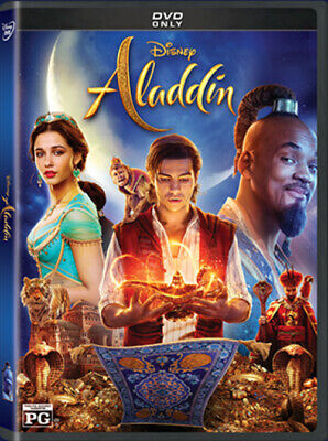 Aladdin Will Smith 2019 DVD Live Action Brand New - Sealed with Free Shipping