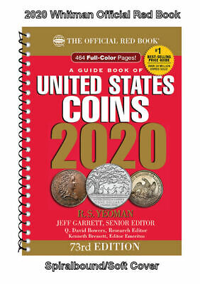 2020 Red Book Price Guide 73rd Edition Spiral SHIPPING NOW