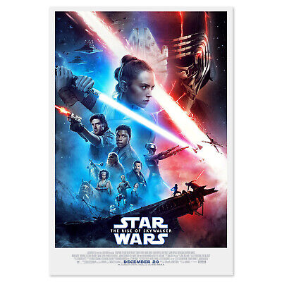 Star Wars The Rise of Skywalker Poster - Official Art - High Quality