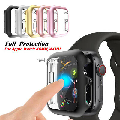 iWatch 40mm44mm Screen Protector Case Snap On Cover for Apple Watch Series 5 4