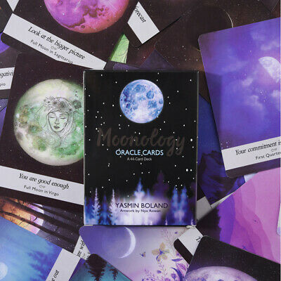 US Moonology Oracle Cards A 44-Card Deck and Guidebook by Yasmin Boland Magic