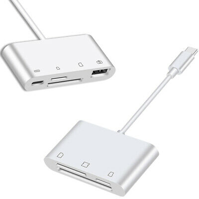 Type C Card Reader SD TF CF U Flash Disk Mouse OTG Adapter for iPad Pro Samsung