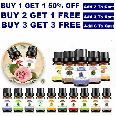 10ml Essential Oil 100 Pure Aromatherapy For Essential Oils Diffuser Fragrance
