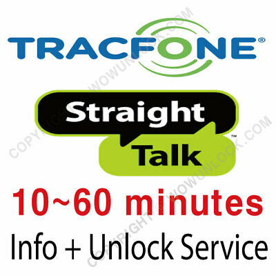 Tracfone Straight Talk Info - Unlock Code Service iPhone - Generic Devices
