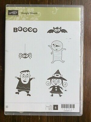 Stampin Up Googly Ghoulsclear mount stamp set