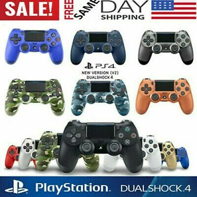 Original PS4 DualShock4 Wireless Bluetooth Controller for Sony PlaySation 4 USA