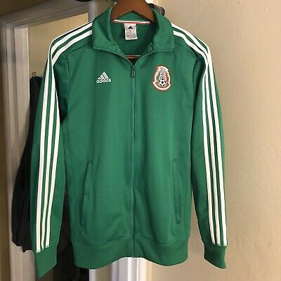 2015 Mexico Adidas jacket Size Small Soccer Jersey Shirt World Cup Vintage Green