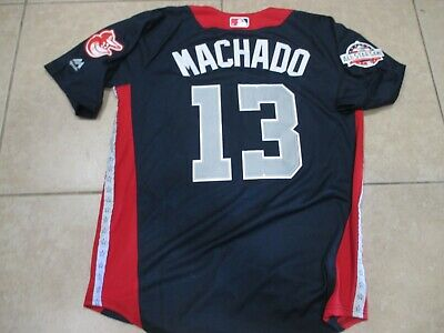 NEWManny Machado 2018 Baltimore Orioles All Star Game Baseball Jersey Large