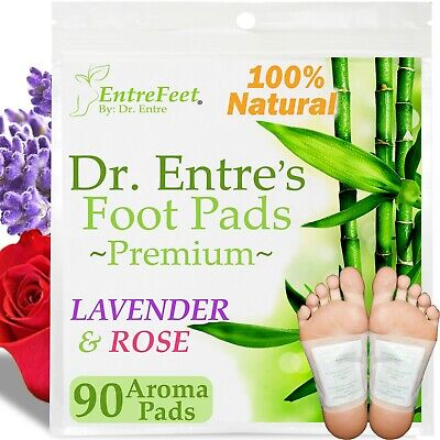 Dr- Entres Detox Foot Pads90 Pack Body Patch For Cleansing Toxins Health Care