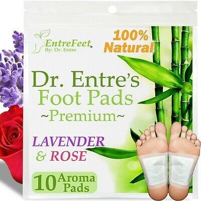 Dr- Entres Detox Foot Pads10 Pack Body Patch For Cleansing Toxins Health Care