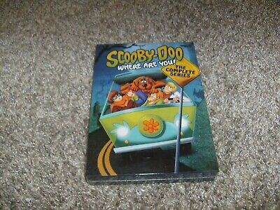 Scooby-Doo Where Are You The Complete Series DVD 7-Disc Set