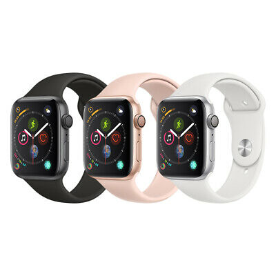 Apple Watch Series 4 Aluminum  40mm  44mm  GPS Only  Space GraySilverGold