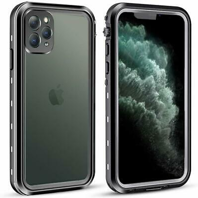 For Apple iPhone 11 Pro Max Waterproof Case Cover w Built-in Screen Protector