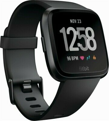 NEW Fitbit Versa Fitness Activity Smart Watch Heart Rate Monitor WITHOUT BAND