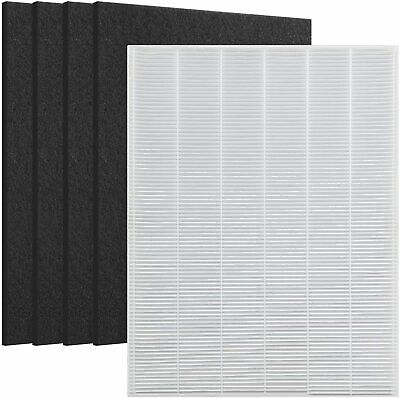 Replace for Winix 115115 Filter - 4 Carbon Filters PlasmaWave Size 21 5300 5500