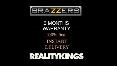 BRAZZERS PREMIUM - REALITYKINGS premium  3 MONTHS INSTANT DELIVERY