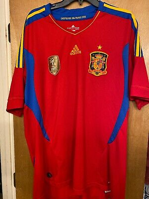 Adidas Spain National Team World Cup Jersey Adult XXL Spanish 2010