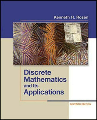 Kenneth Rosen Discrete Mathematics and Its Applications 7th Edition