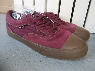 NWT MENS SUPRA HAMMER VTG SNEAKERSSHOES SIZE 9-WINEGUM-BRAND NEW FOR 2020