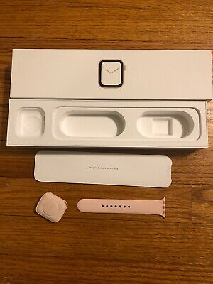 Apple Watch Series 440 MM Gold Box And Inserts Only