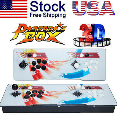 2020 New Version   Pandoras Box 12S 3188 Games 2D3D video game Double-players