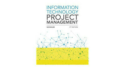 Information Technology Project Management Kathy Schwalbe 9th Edition