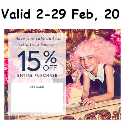 PRE SALE JANIE - JACK COUPON code 15 off Entire Purchase - Valid 02-29 Feb 20